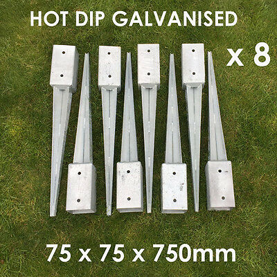 75 x 75mm Fence Post Spikes Loose CJ310L