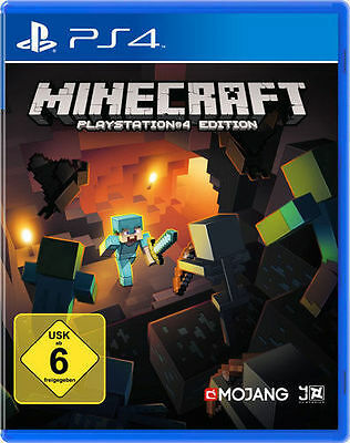 Sony PS4 Playstation 4 Spiel ***** Minecraft ****************************NEU*NEW
