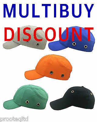 Bump Cap Vented Baseball Style Safety Hard Hat Helmet Head Protection Quality