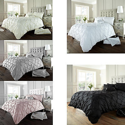 Duvet Cover Set With Pillow Case Bed Quilt Cover Set Single Double King Alford