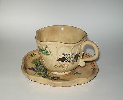 Japanese Cup & Saucer - Late Meiji Period
