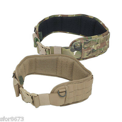 Elite Ops Enhanced Padded Load Bearing Belt (Plb) Molle Battle Belt Multicam Ct