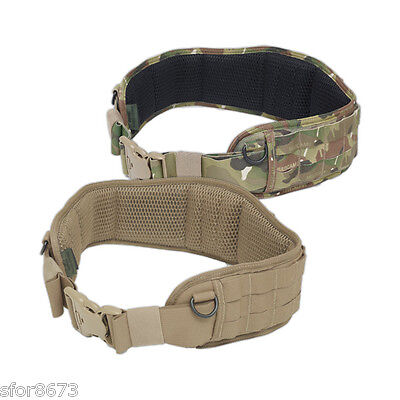 Enhanced Padded Load Bearing Belt MOLLE Warrior Assault Systems PALS belt rig