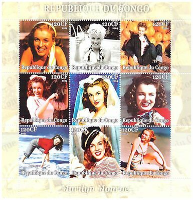 Marilyn Monroe Movie Photos Model Actress / MNH Stamps 2001