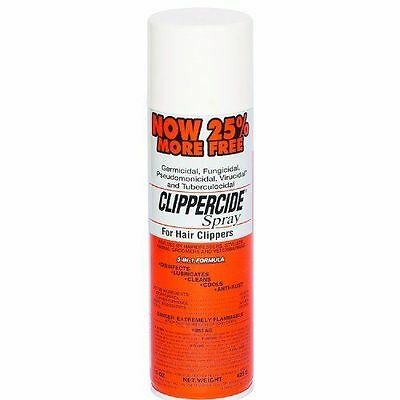 Germicidal Fungicidal Clippercide Spray For Hair Clippers 5 In 1 Formula 15oz
