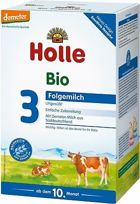 24 x 600g Boxes Holle Organic Stage 3 Baby Infant Formula Only $20.79 per Box !