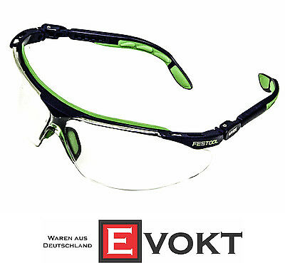 Festool UVEX Safety Glasses Scratch-Proof Anti-Fog 500119 Genuine New Protection