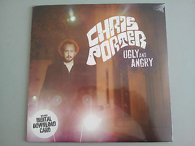 """Chris Porter """"Ugly and Angry"""" LP vinyl with Download card  New sealed"""