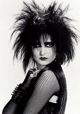 Siouxsie Sioux Fantastic Portrait BW Poster