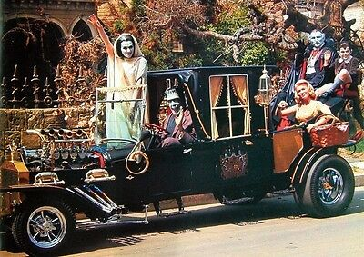 The Munsters Fantastic Hot Rod Poster
