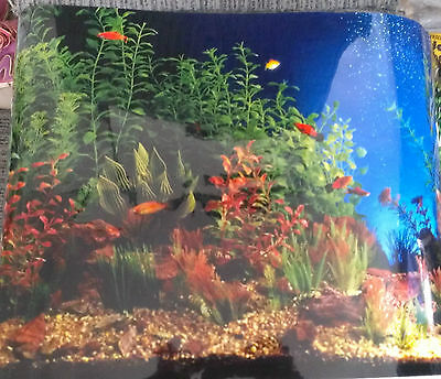 aquarium backing assorted patterns suit tanks up to 3ft