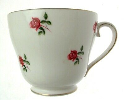 Colclough Pink Roses 7433 3 Inch Breakfast Cup only