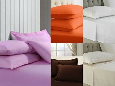 Great Knot 2 Oxford Pillow Cases Egyptian Cotton  Percale  200 Thread Bed Linen