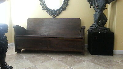 Antique bench early 1800's