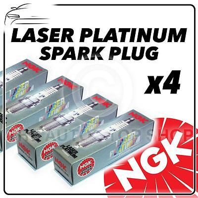 4x NGK SPARK PLUGS Part Number PFR7G Stock No. 4364 New Platinum SPARKPLUGS