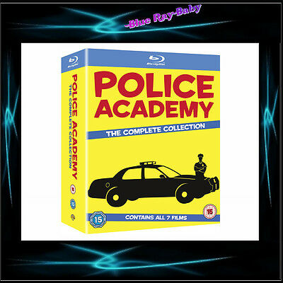 Police Academy - The Complete Collection 1 - 7  *** Brand New Bluray Boxset**