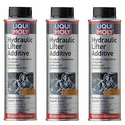 3x Liqui Moly Hydraulic Lifter Additive 300ml LiquiMoly 2770