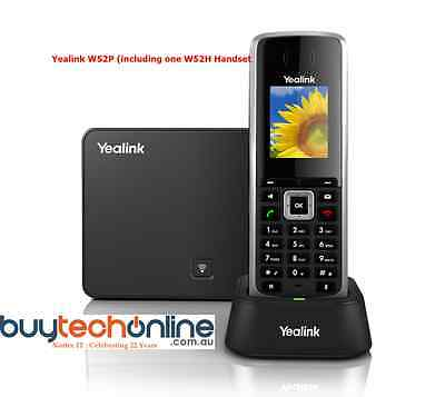 Yealink W52P VoIP Cordless DECT Phone and W52H IP Handset (1xW52P)