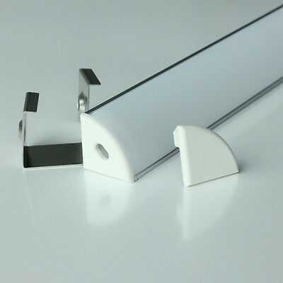 Up to 10M Aluminium Profile Channel Track & Diffuser for LED Strip Light
