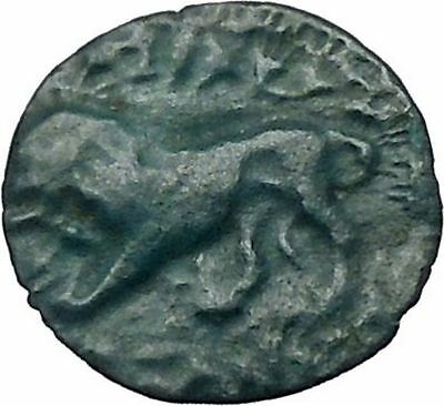 KASSANDER king of Macedonia 319BC Hercules Lion Ancient Greek Coin i49233