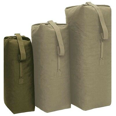 US Seesack small Transportsack klein Trageseesack Outdoor Camping Army, oliv