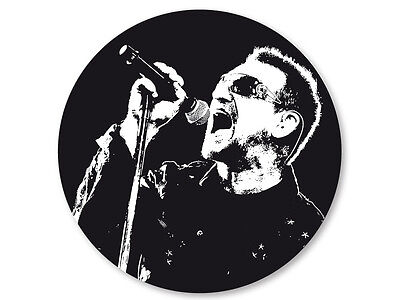 Pin Button Badge Ø38mm U2  Rock Bono