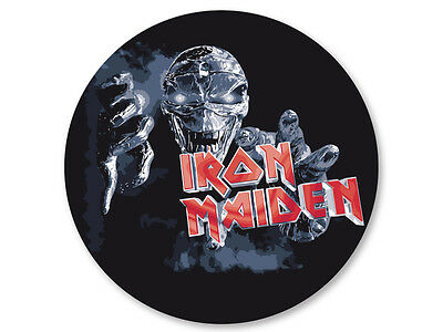 Pin Button Badge Ø25mm Iron Maiden Heavy Metal UK
