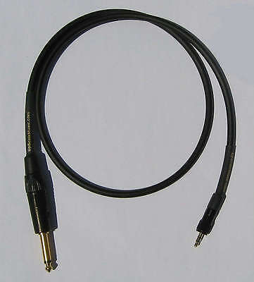 UpScale Canare GS-6 Un-Balanced RCA to RCA  Audio Cable Red 1.5FT