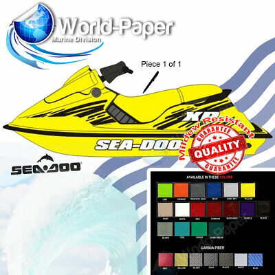 Jet Ski Seat Cover SeaDoo XP SP SPX SPi YELLOW, 89,90,91,95,96 :)