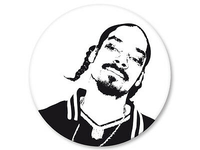 Magnet Aimant Frigo Ø38mm Snoop Dogg Rap US