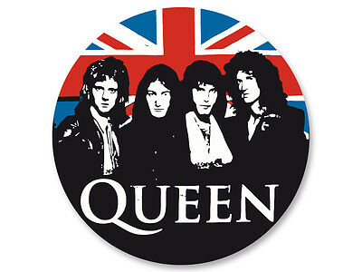 Magnet Aimant Frigo Ø38mm Queen Rock UK Freddie Mercury