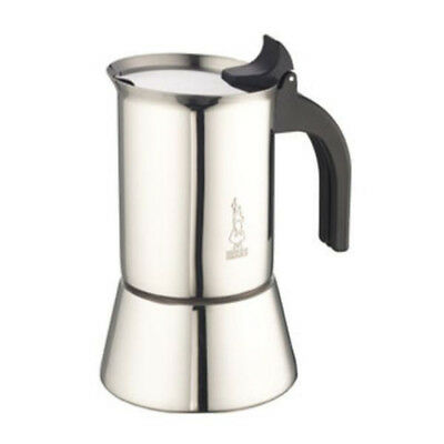 Bialetti Venus - Stovetop Espresso Maker - Stainless Steel - 6 Cups