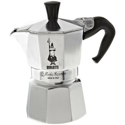 Moka Express  Stove Top Traditional Italian Espresso Coffee Maker Pot - 6 Cup