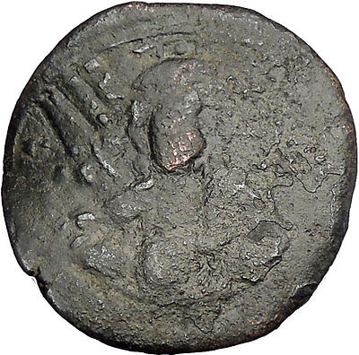 JESUS CHRIST Class E Anonymous Ancient 1059AD Byzantine Follis Coin i50128