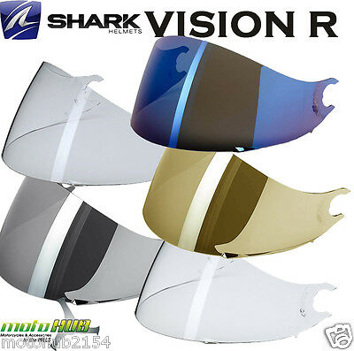 Shark VISION R Replacement Visor Shield Motorcycle Helmet Road Bike