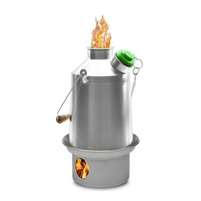 Stainless Steel Scout (1.2L) Kelly Kettle or Kits or Accessories -Camping Kettle