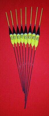 8 x Assorted High Quality Pole Fishing Floats (Pack 335Y8)