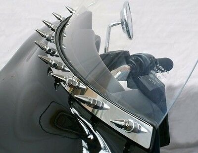 Fairing/windshield Spiked Accent Trim For Harley 1996-2013 (Hd910-S / 2350-0275)