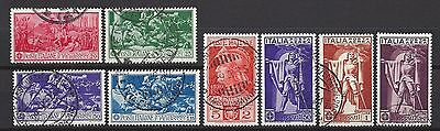 Italy nr 337-344 used