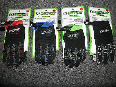 JETPILOT Neoprene PWC Jetski Seadoo Gloves JP9300 PWC Blue Black Red Green