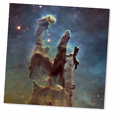 Eagle Nebula Pillars of Creation Hubble Astronomy Space Poster High Quality
