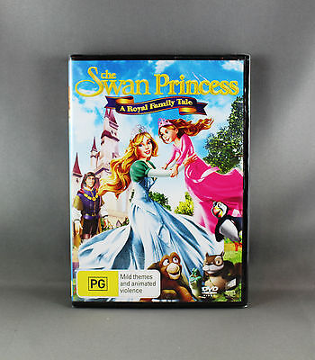The Swan Princess - A Royal Family Tale Dvd -  Region 4 Pal - New/sealed