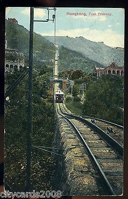 HONG KONG - Peak Tramway with 'Train'  showing some buildings