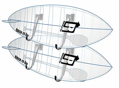 Stand Up Paddle Board SUP Storage Rack / 2 Sets to hold 2 Boards and 2 Paddles