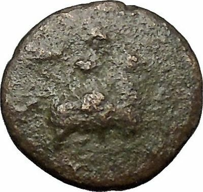 Magnesia ad Maendrum 350BC Warrior on Horse & Bulll Ancient Greek Coin i49804