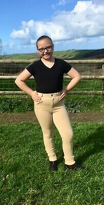 Small Childrens Jodhpurs Pink, Purple and Beige Colours