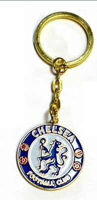 OFFICIAL CHELSEA FC - CREST KEYRINGS KEY RING - Ideal Gift for Football Fans