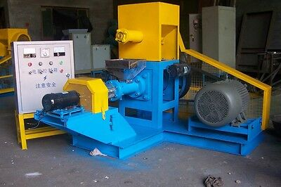 Extruder 180-200 kg/h for dog and cat food, pet foods high quality free shipping