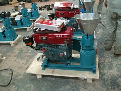 "YOULL HAVE IT This Week WOOD  PELLET MILL 5"" DIESEL PELLET PRESS IN WAREHOUSE"