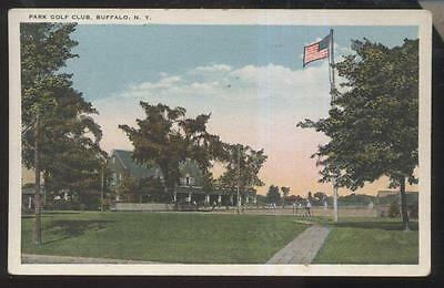 1910s POSTCARD BUFFALO NY//NEW YORK PARK GOLF CLUB